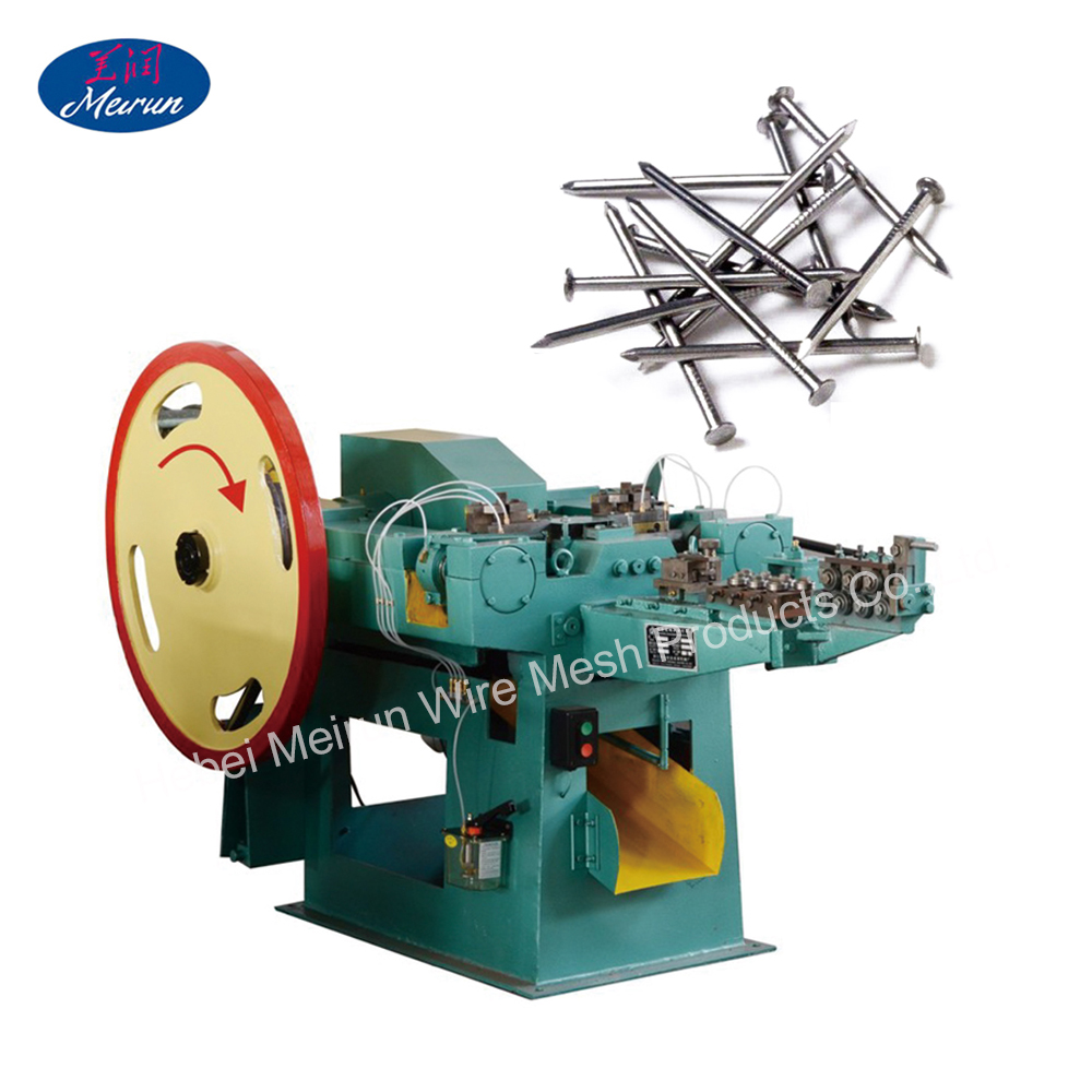 4--6.5 inch nails auto nail making machine, capacity 260 pieces per minute