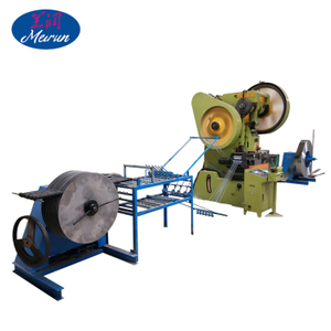 Razor Blade / Concertina Coil Razor Barbed Wire Machine Manufacturing / Factory in Anping