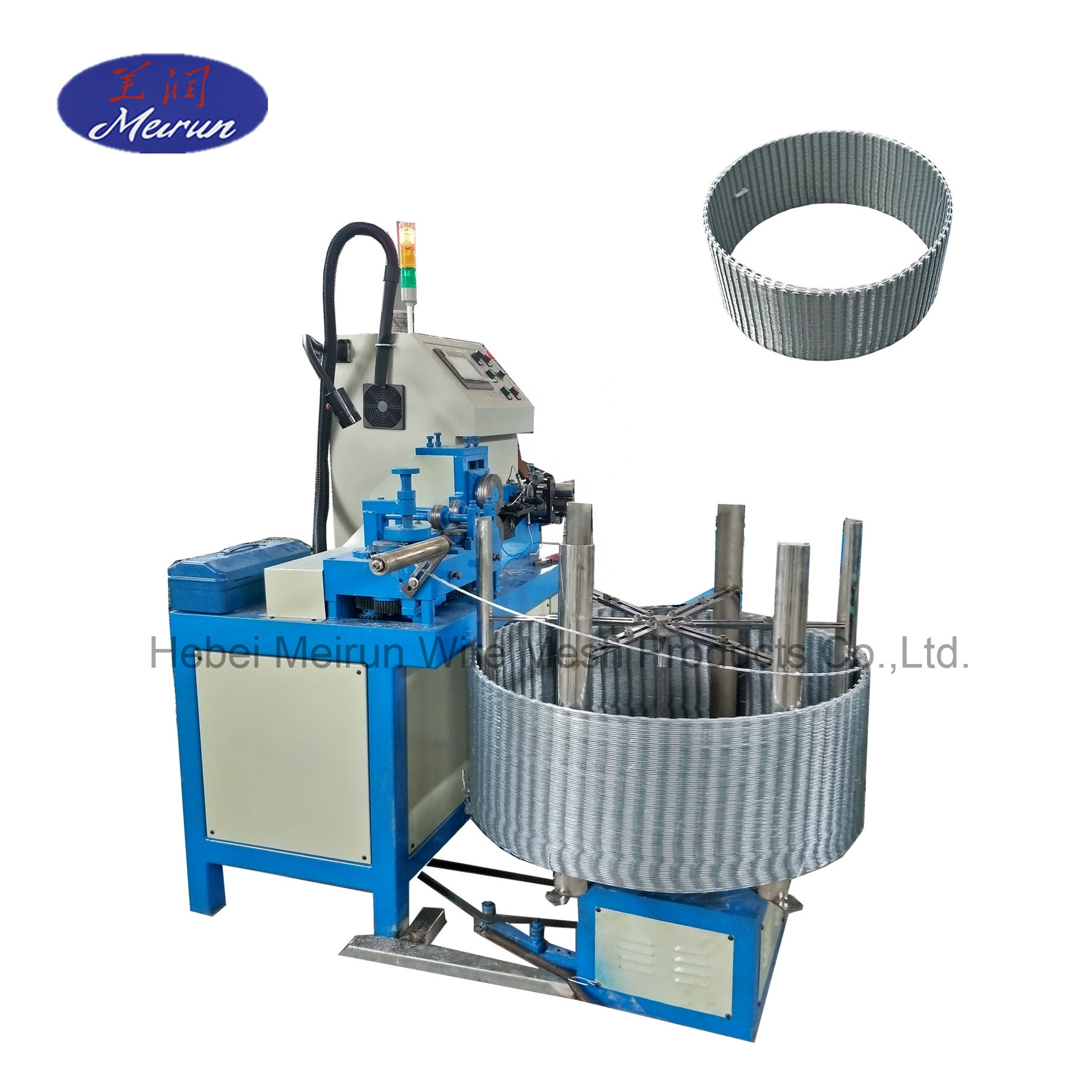 High Speed Razor Barbed Wire Machine