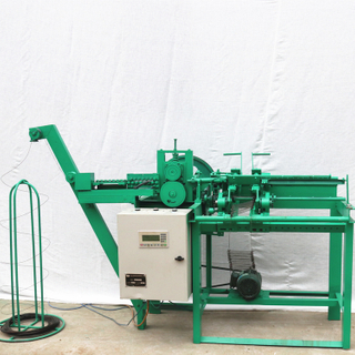 High Working Efficiency Stable Performance 4-20 Inches Wire Loop Automatic Double Loop Wire Ties Making Machine