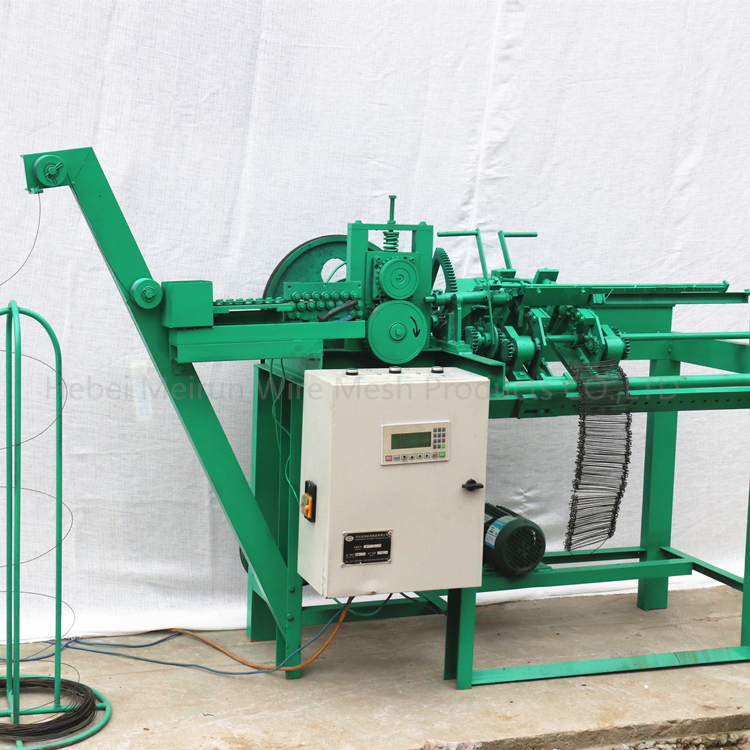 New style design electro galvanized and black annealed wire loop tie wire machine used for fixed rebar metal building materials