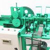 New style design electro galvanized and black annealed wire double loop tie wire machine/wire ring machine