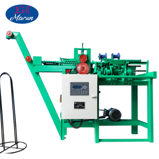 Factory Supply Construction Bag Wire Ties Double Loop Machine