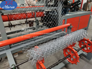 Automatic Galvanized Chain Link Fence Making Machine