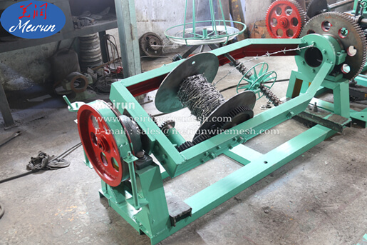 Barbed Wire Fence Making Machine