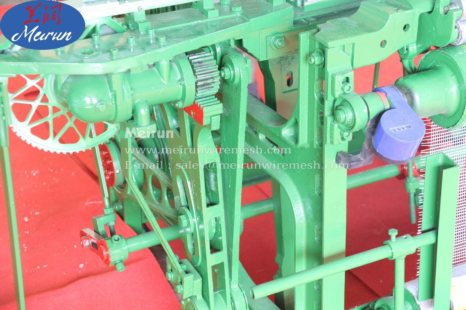 Fiber Glass Loom Weaving Machine