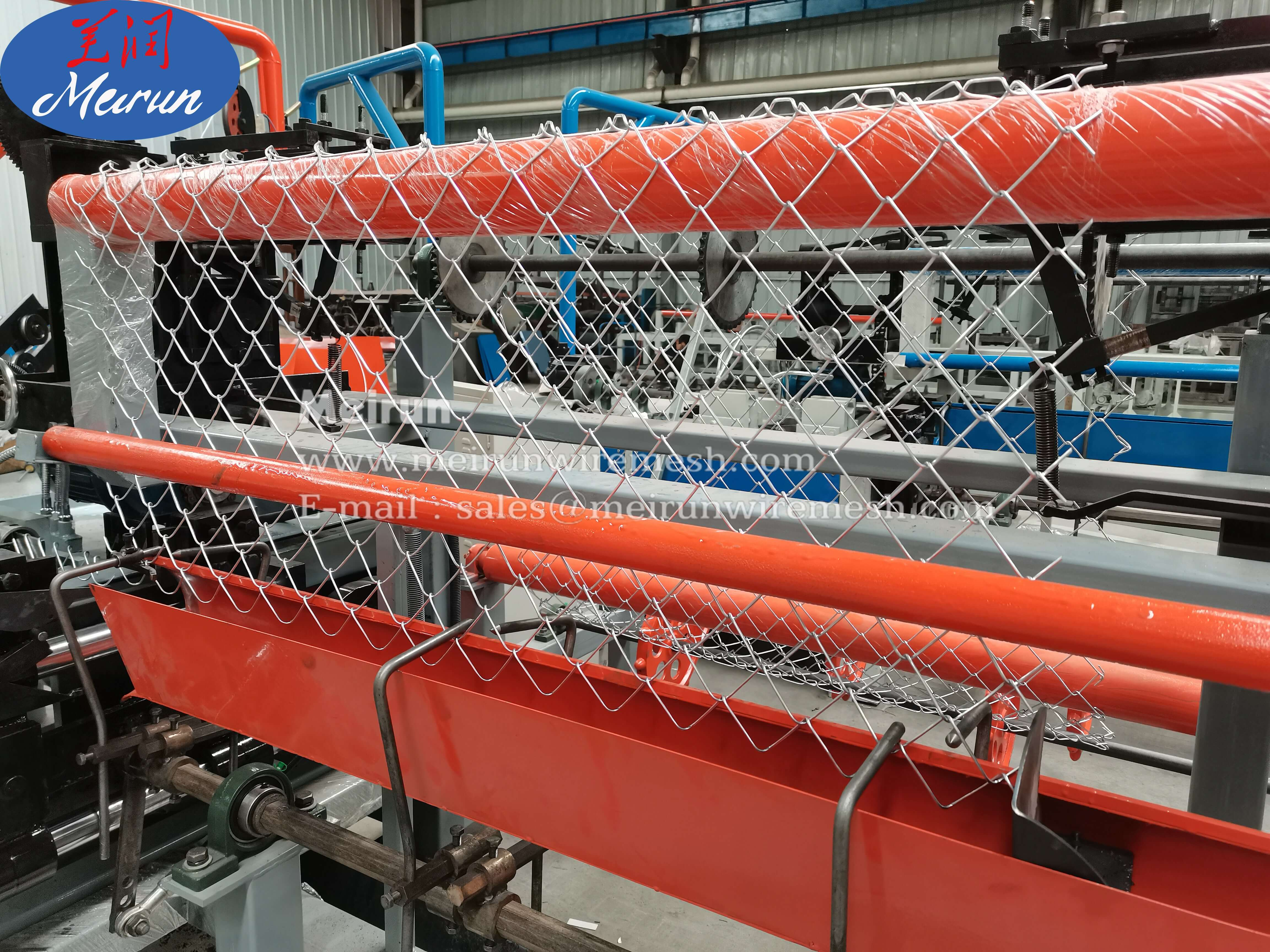 Soccer Field Chain Link Fence Making Machine