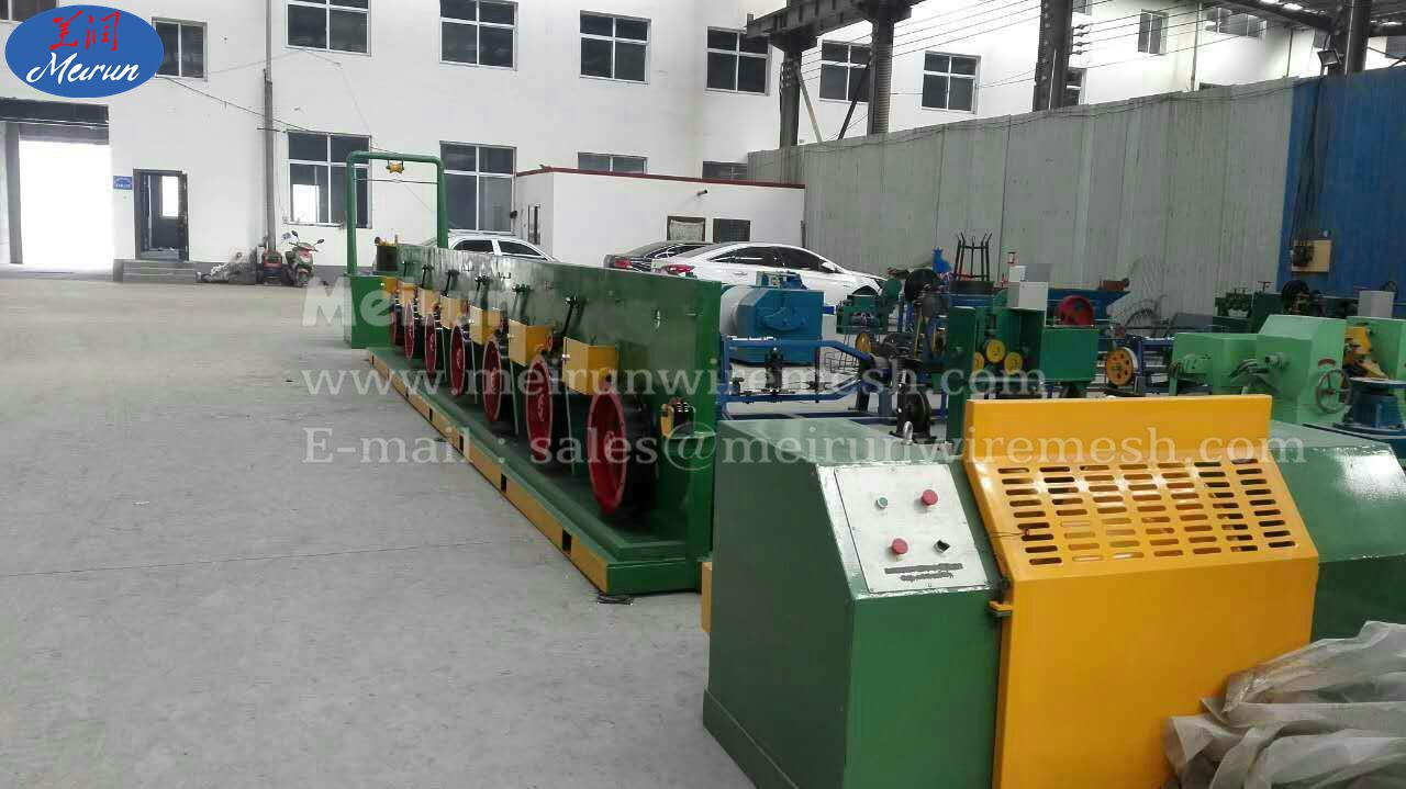 Good Quality Straight Line Steel Wire Rod Wire Drawing Machine