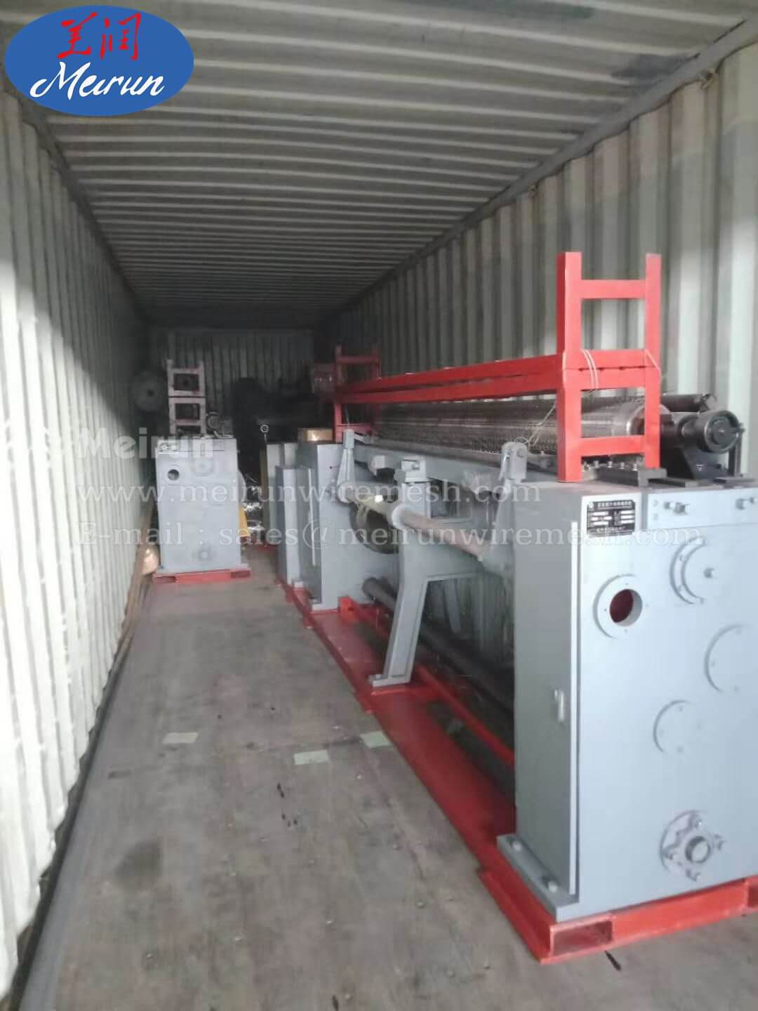Heavy Hexagonal Wire Mesh Machinery