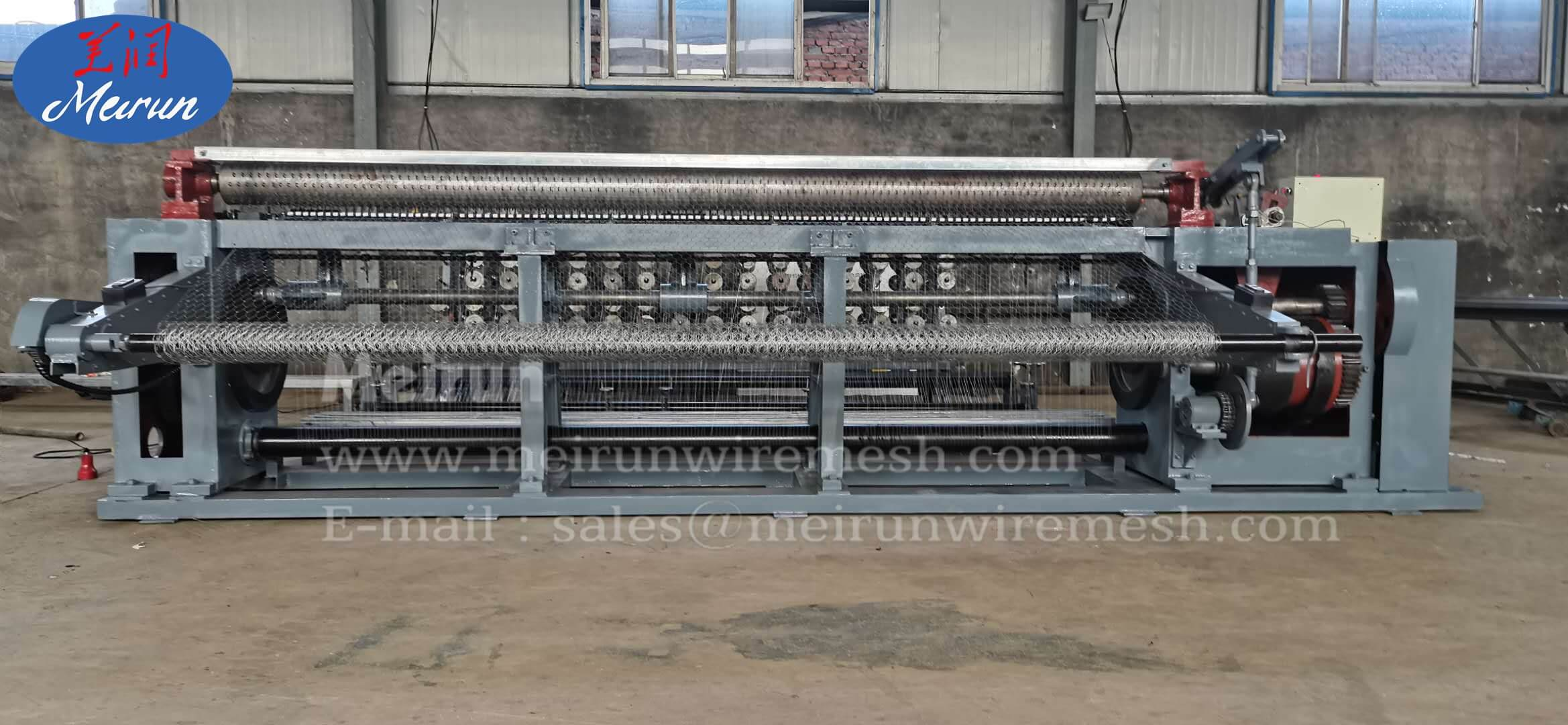 Hexagonal Chicken Wire Mesh Machine