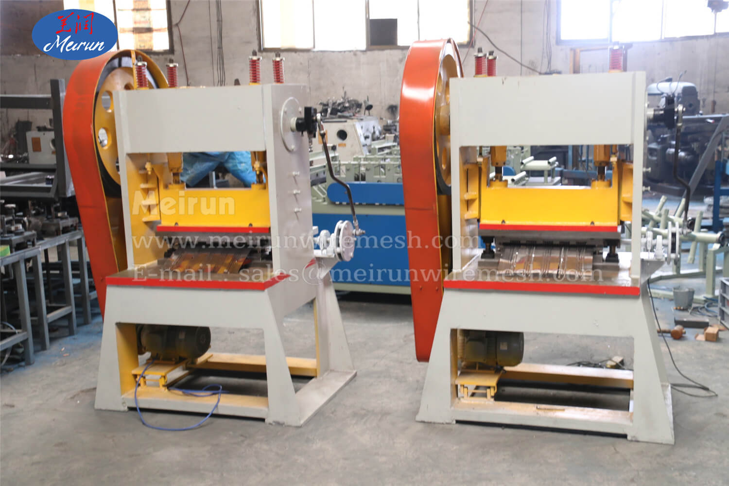 Ribbed Lath Mesh Formwork Machine