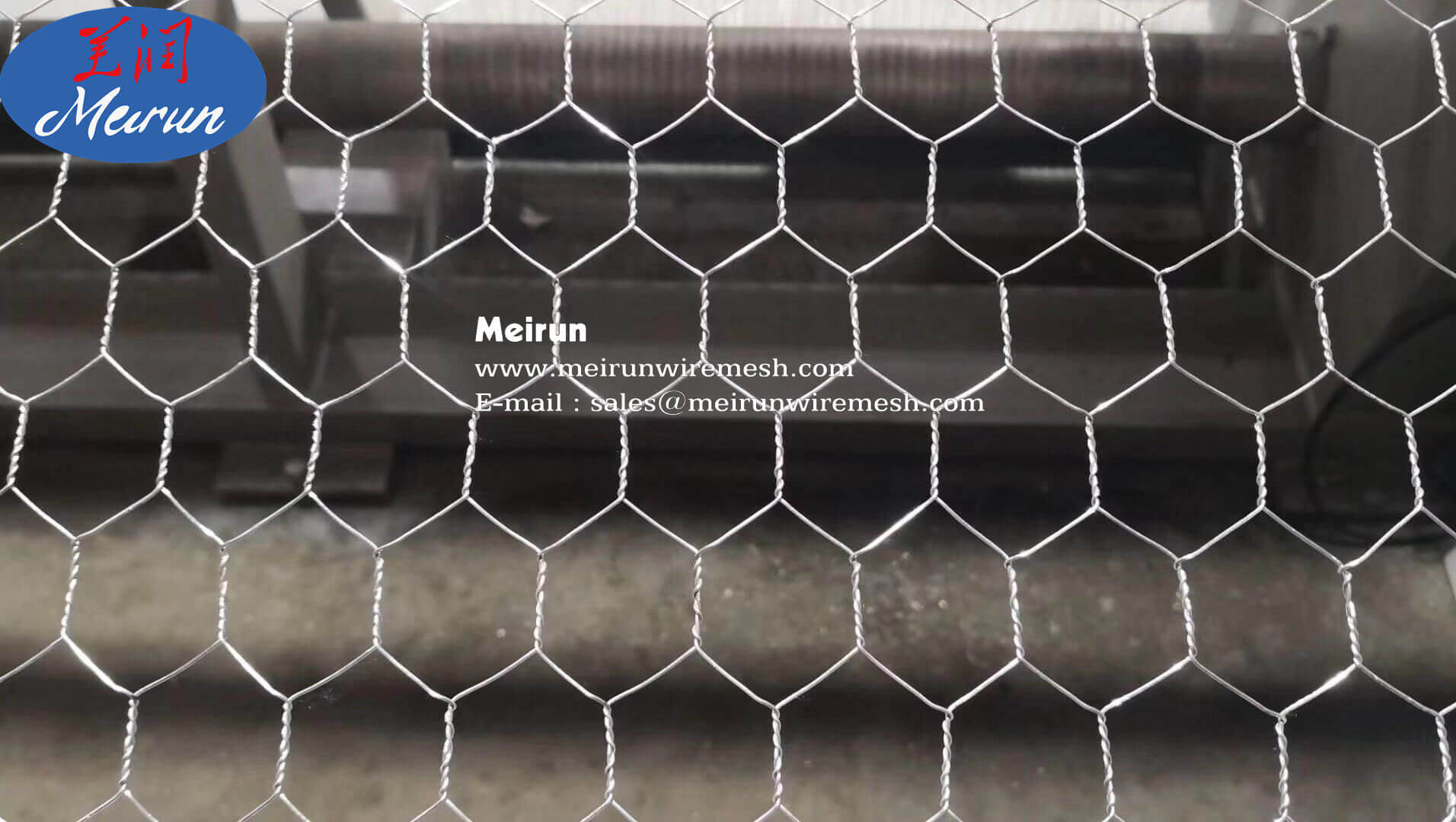 Hexagonal Wire Machine