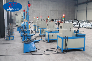 Barbed Wire Clips Razor Fence Making Machine