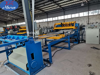 Concrete Reinforcing Welded Wire Mesh Fence Panel Machine
